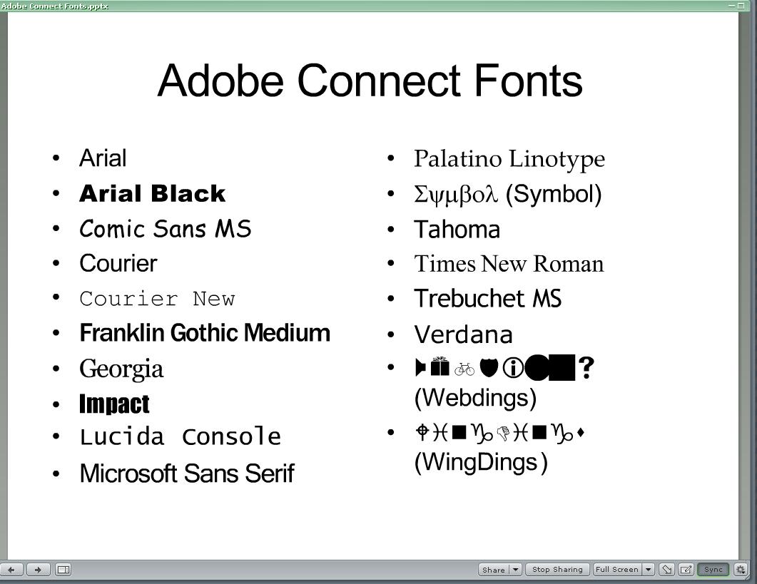 Microsoft Chinese Fonts