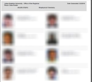 Photo Roster Appears