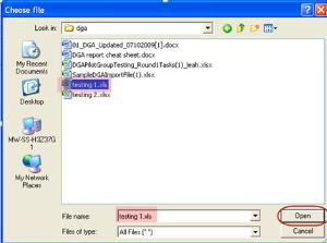 Choose File Dialog Box