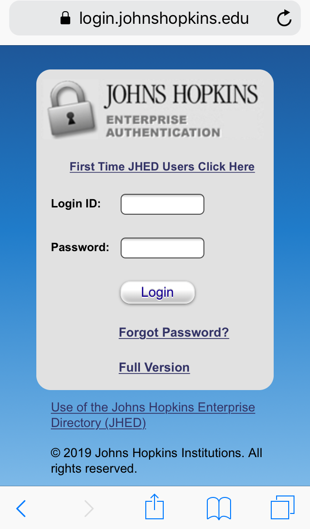 Zoom Mobile Application | IT@JH University Information Systems