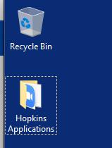 Hopkins Applications Folder